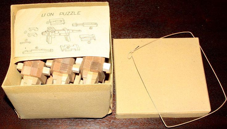 doos met leeuwen design jaren 1930 - Hirokichi Yamanaka