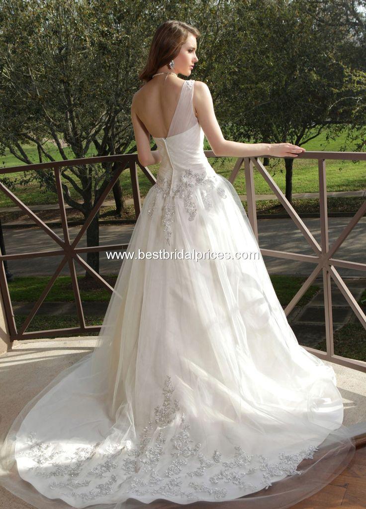 Davinci Wedding Dresses - Style 50153 http://www.bestbridalprices.com/davinci-wedding-dresses-style-50153-p101232