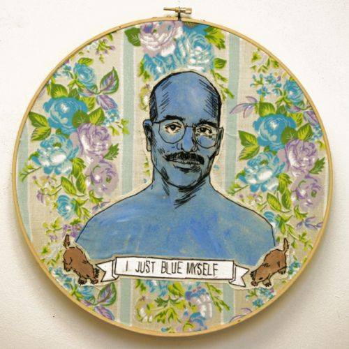 ha:): Awesome Crafts, Blue, Arresteddevelopment, Artsy Fartsi, Too Funny, Tobias Funk, Fans Art, Arrested Development, 166 Tobias