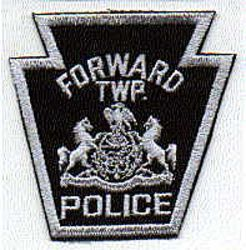 Forward Twp. Police Patch (PA)