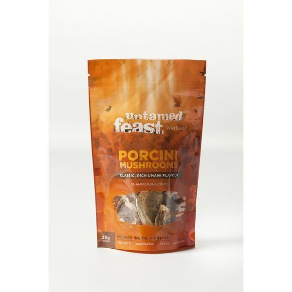 Untamed Feast Porcini Mushrooms - 20g
