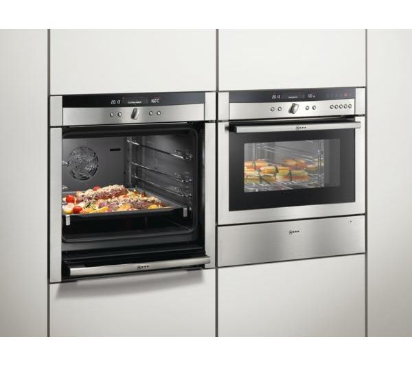 NEFF Series 5 B46E74N3GB Electric Oven - Stainless Steel  Avail. at Currys