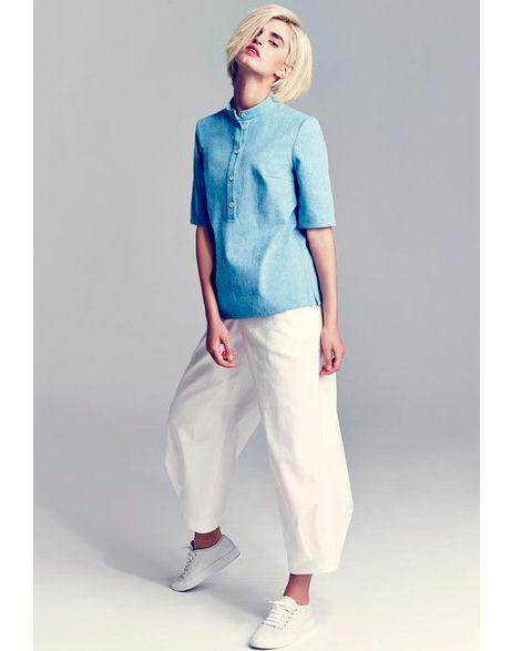 Выкройка блузы - модель 208 - скачать готовые выкройки одежды | Бюро GRASSER