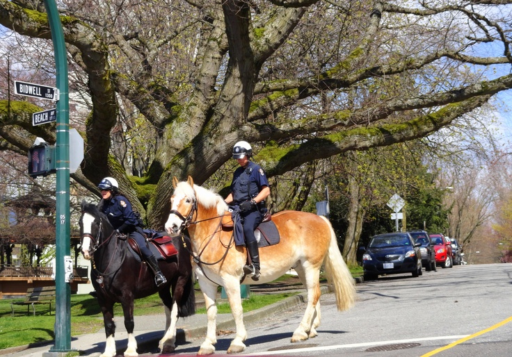 Police Officers near Stanley Park - Vancouver