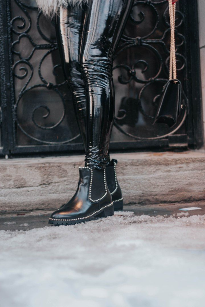 72f3d55bcb6 DELIX Studded Leather Ankle Boots in 2019 | Shoe Addict | Boots ...