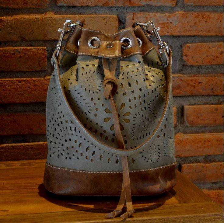 Gypsy Bucket bag by INOMIO on Etsy
