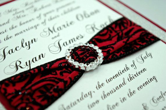 Red And Black Wedding Invitation Kits: Best 25+ Black Silver Wedding Ideas On Pinterest