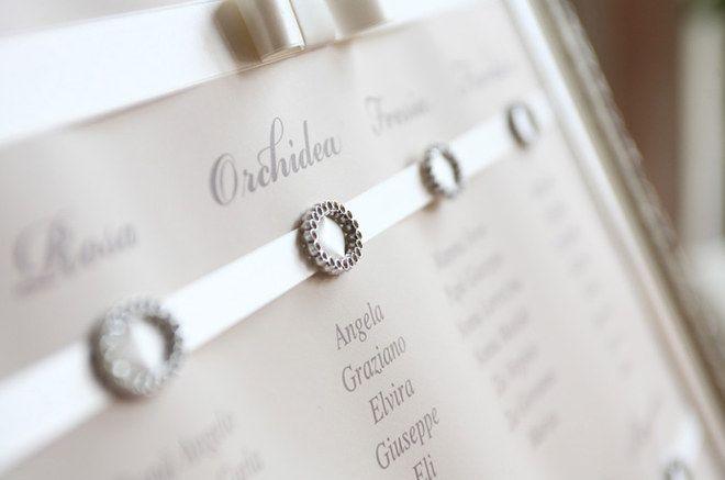 Molto chic ed elegante questo #Tableau per il tuo giorno speciale! #Matrimonio #WeddingPlanning