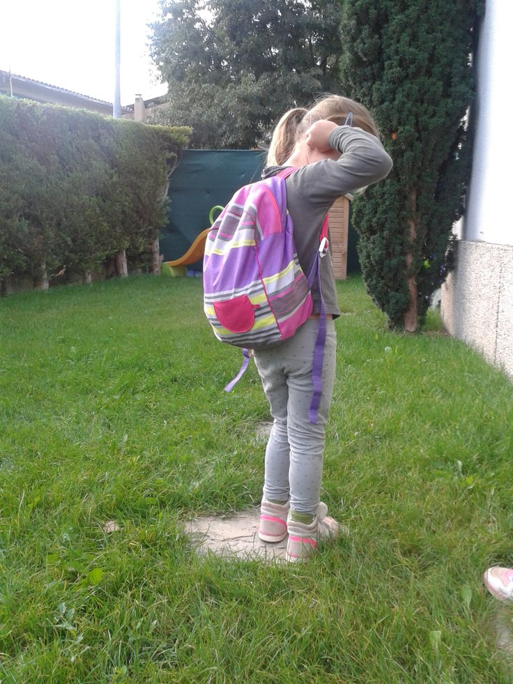 My daughter school bag -Phia&Jools