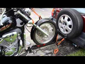 If you want to take your motorcycle or trike down the street or across the country, the Cycle-Tow Motorcycle Trailer Tow Bar System is the perfect motorcycle...
