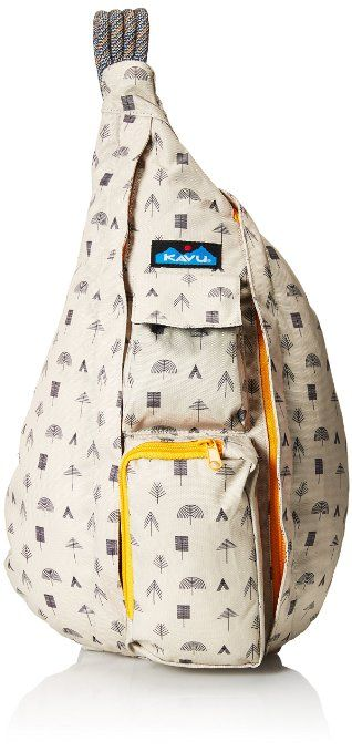 Amazon.com : KAVU Rope Sling Backpack Black : Shoulder Handbags : Sports & Outdoors