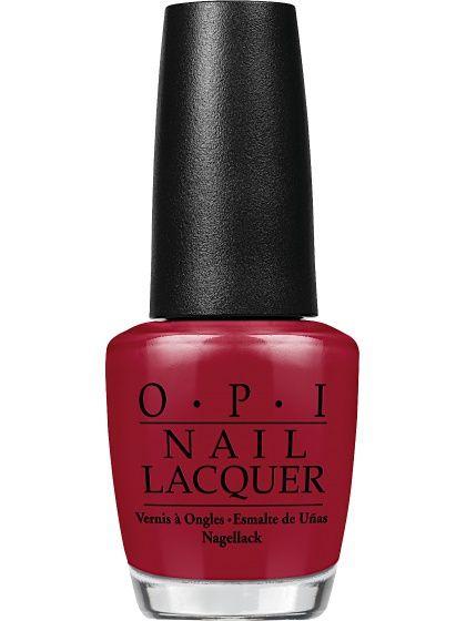 Opi Лак для ногтей MALAGA WINE, 15 мл OPI. Цвет бордовый.