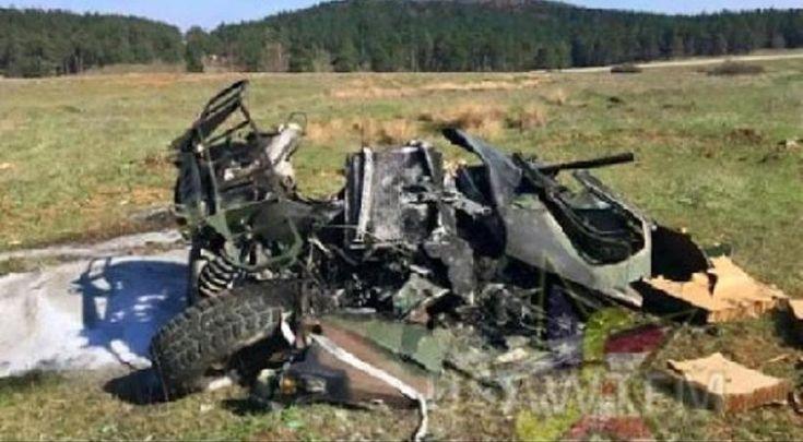 Επική αποτυχία: Τρία Χάμερ καταστρέφονται σε επιχείρηση αερομεταφοράς των Aμερικανών
