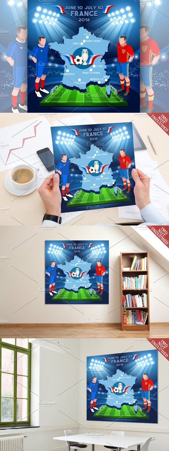 France 2016 EURO Championship. Sport Icons. $7.00