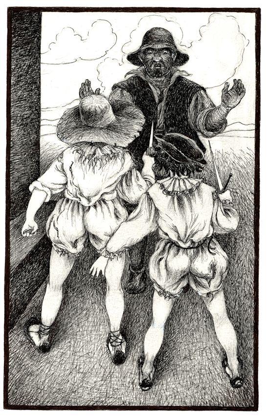 Rinconete y Cortadillo. Novelas ejemplares. Cervantes