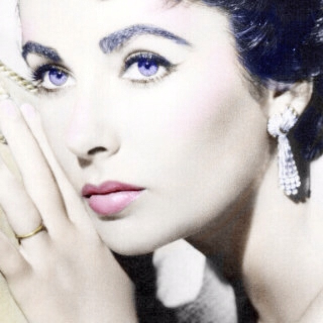 Violet is the least common eye color, even more rare than albino or grey. Elizabeth Taylor was lucky enough to be the one of approximately 3,000 people born with violet eyes. She also had a rare genetic defect known as distichiasis that caused her to have two rows of upper eyelashes on each eye.