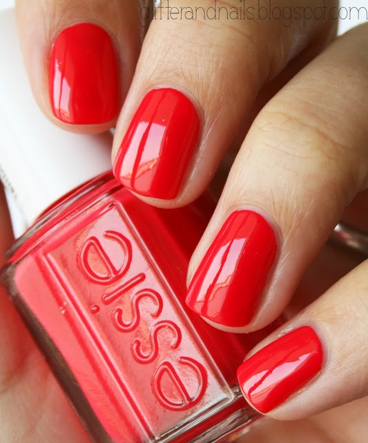 Essie Nail Color. With some sparkle this would be the perfect toe color.