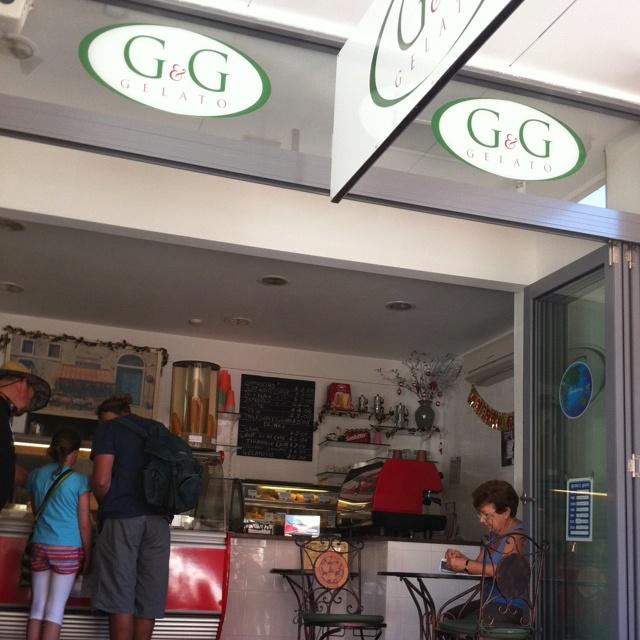 I love this little gelato shop on Hunter Street.