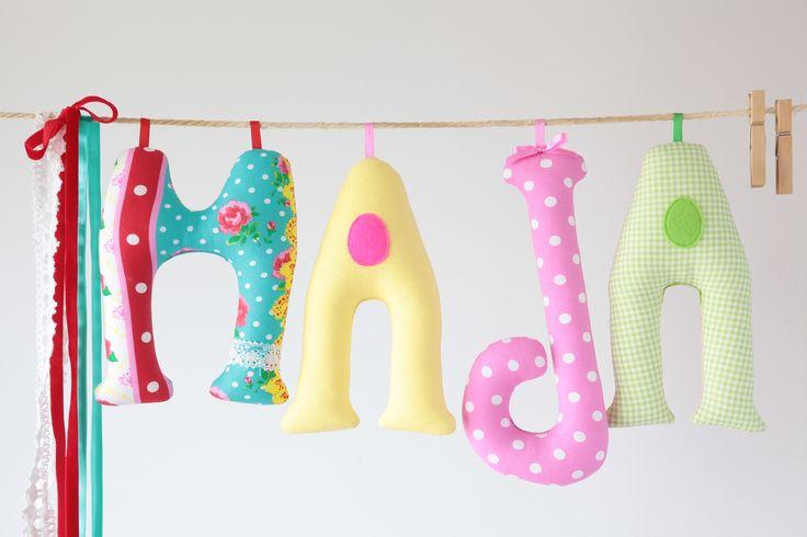 ...kolorowe, szmaciane,szyte literki...letters... agnieszkakreczynska.wix.com/sekretyszafy