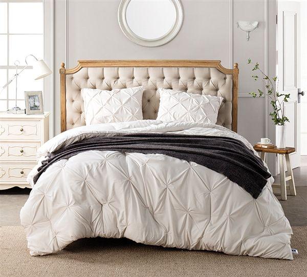 jet stream pin tuck queen comforter oversized queen xl bedding