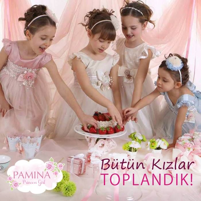 Sömestir bitmeden prenseslere layık bir ev partisine ne dersin?  How about a house party fit for a princess before the end of the semester?  #Party #fashionkids #Tatil #Girls #Happy #Moda #Parti