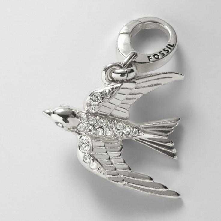 FOSSIL® Jewelry Charms :Women Sparrow Charm JA5617