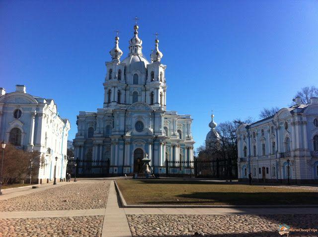 Istituto Smolny - Cosa Vedere a San Pietroburgo