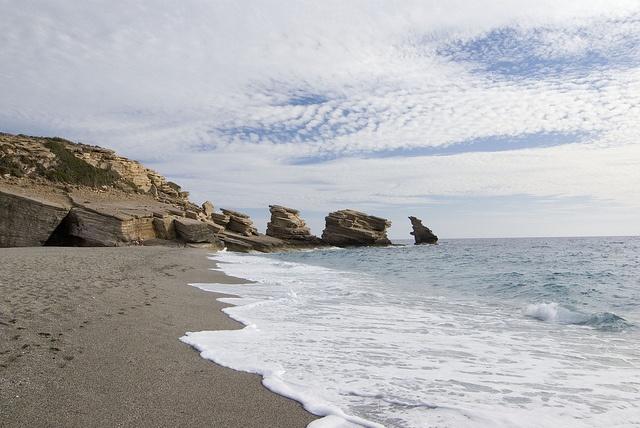 Triopetra Beach, Crete