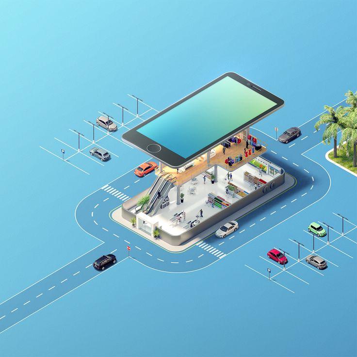 Smart Mall on Behance