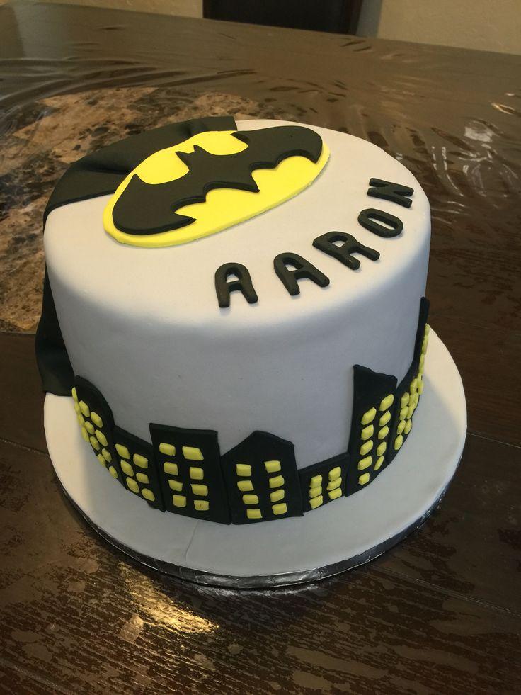 D Batman Birthday Cake