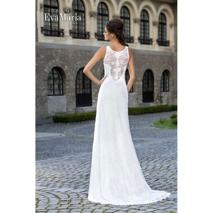 Svadobné krajkované šaty Palerma