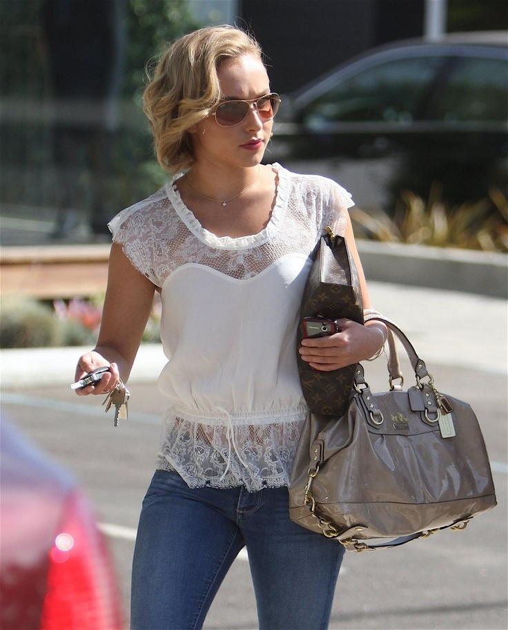hayden panettiere 2013 style | hayden_panettiere-lace-top www.CheapDesignerHub.com   NEW 2013 LV handbags online outlet, wholesale CHANEL tote online store, fast delivery cheap LOUIS VUITTON handbags