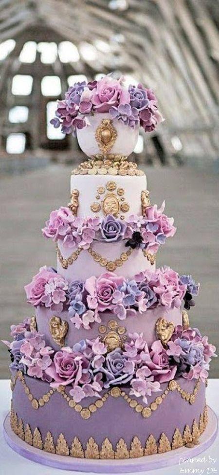 Emmy DE * Marie Antoinette Wedding Cake by Elizabeth Solaru via Flickr