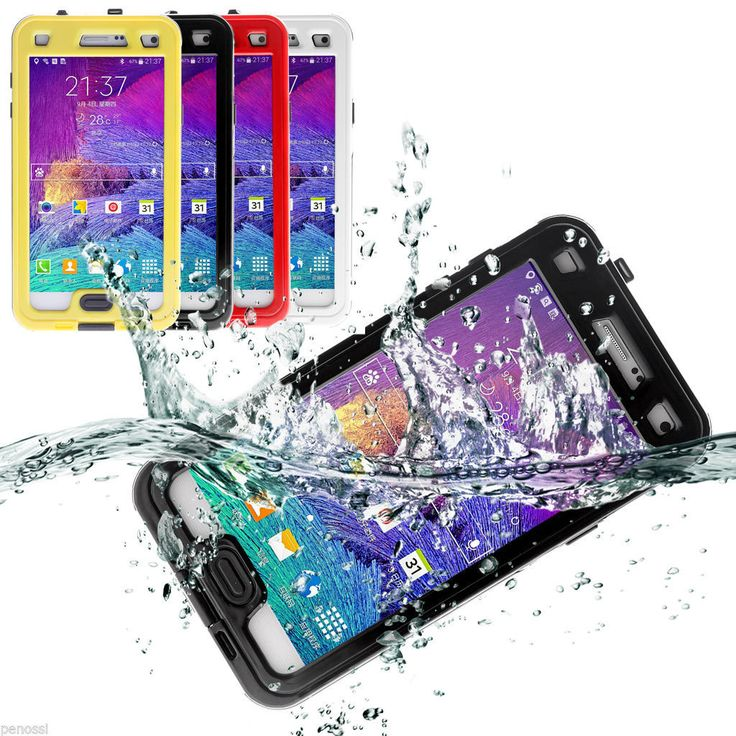 Swimming Waterproof Shockproof Phone Case Cover For Samsung Galaxy Note 4 N9100   #samsung #samsungmobile
