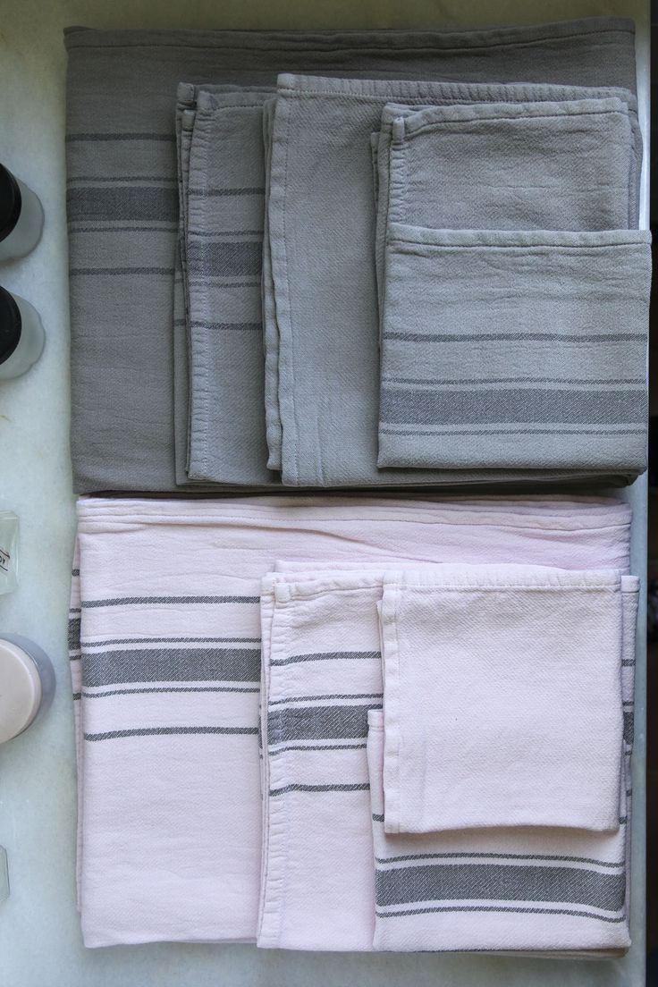 100% cotton fabric towels.  *NEW!
