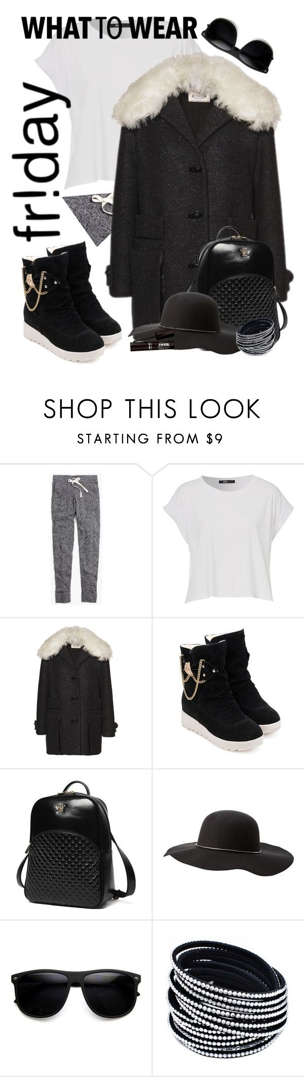 """""""Black Friday"""" by nieboskakara ❤ liked on Polyvore featuring Madewell, Tod's, Princess Carousel and Charlotte Russe"""