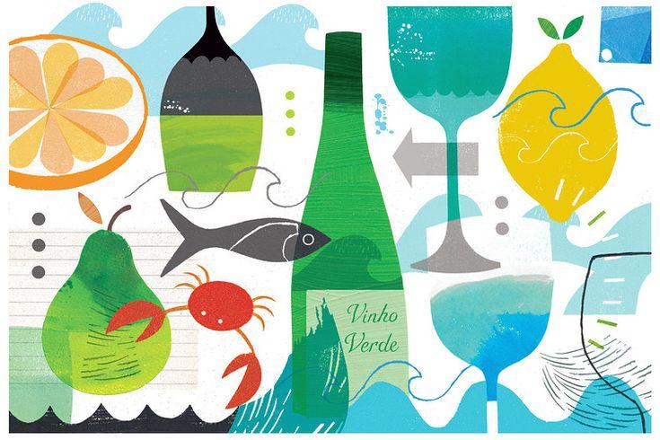 Catching Vinho Verde's Refreshing Wave | via The Wall Street Journal 25.07.2013 | Vinho Verde is the ultimate hot-weather wine.