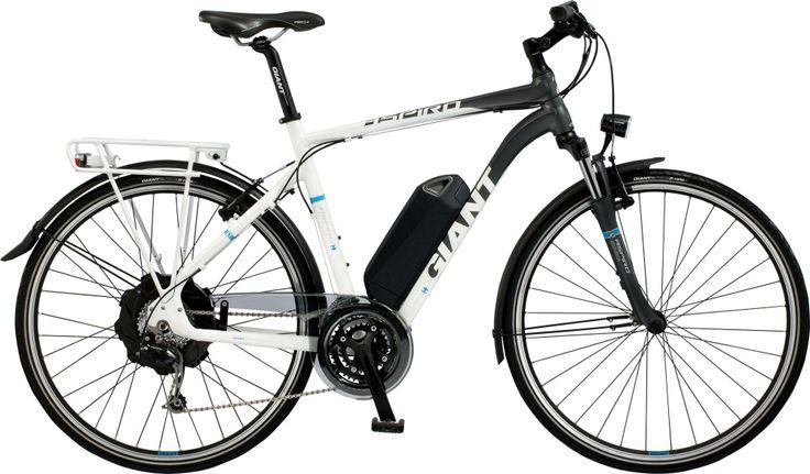 Has pensat a canviar la teva vella bicicleta per una d'elèctrica? Aquest és un dels models 2014 de Giant Bicycles, què et sembla? / ¿Has pensado en cambiar tu vieja bicicleta por una de eléctrica? Éste es uno de los modelos 2014 de Giant, que te parece?