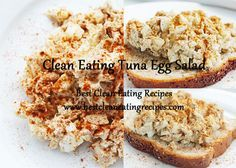 Clean Eating Tuna Egg Salad | Clean Eating Diet Plan | Clean Eating Meal Plan | Clean Eating Recipes #cleaneating #cleaneatingdiet #cleaneatingrecipes