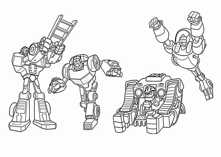 Online Rescue Bots Coloring Pages Best Coloring Pages For Kids For