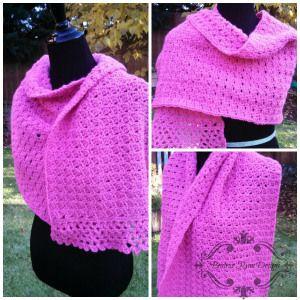 Amazing Grace Prayer Shawl- Free Crochet Pattern