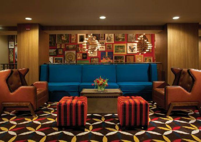 Hotel lincoln lobby james chicago hotel best boutique for Top boutique hotels in chicago