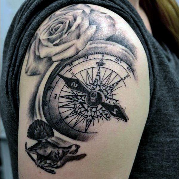 значение татуировки роза ветров