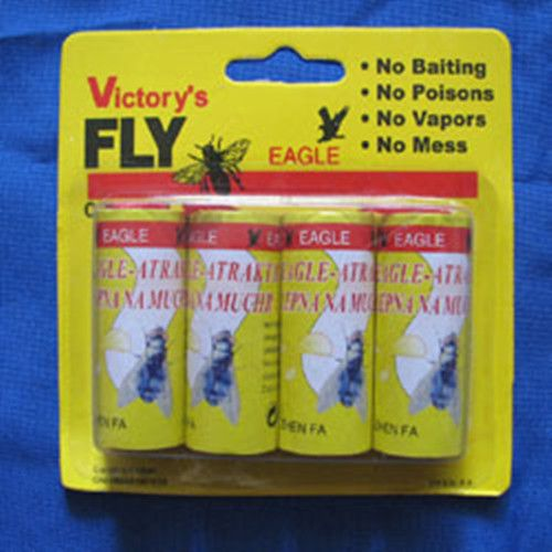 High Quality 4X Fly Sticky Paper Strip Mosquitos Catcher Flying Insect Control Non Toxic Flying Catcher