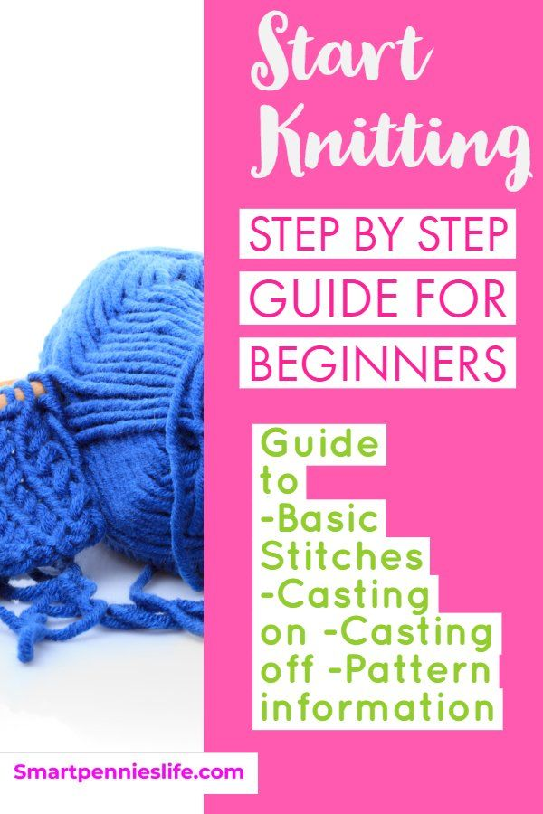 Learn To Knit A Step By Step Guide For Beginners Knit And Crochet