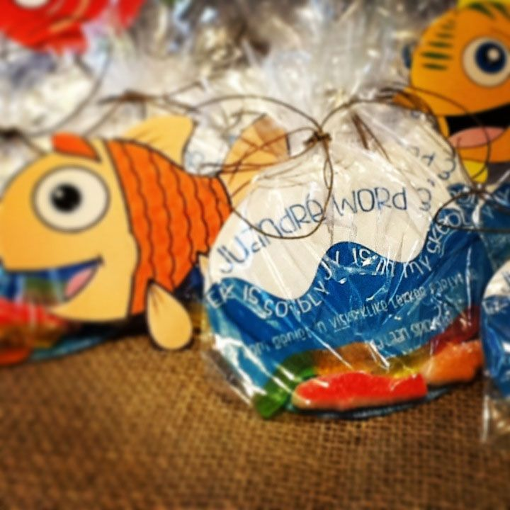 Fish theme party - Personalised Invitations