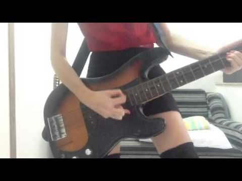 I just remembered this.. Me playing All i want - offspring bass cover... this song playing Crazy Taxi game, the chorus is easy to get even find and copy the notes in my hands :)