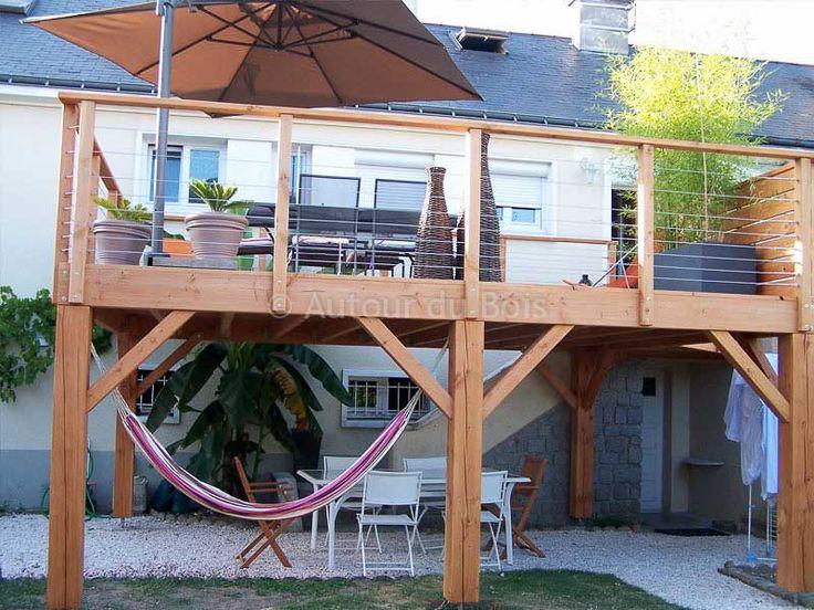 31 best Allée et terrasse images on Pinterest Pergolas, Terrace - rendre une terrasse etanche