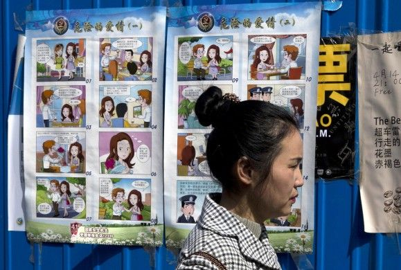"Beware of 'Dangerous Love' with foreign spies, China tells its women Dashing foreigner 'David' tempts hapless state worker 'Little Li' into handing over state secrets in cartoon posters put on display by government China has marked ""National Security Education Day"" with a poster warning young female government workers about dating handsome foreigners who could turn out to be spies.A 16-panel cartoon poster entitled Dangerous Love, tells […]"