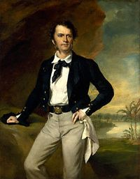 """This is James Brooke, an adventurer who became Raja of Sarawak by getting rid of some pirates for the Sultan of Brunei. He established a dynasty of """"White Rajas"""" that were very popular among their subjects. This is an unusually attractive family. First of a series."""